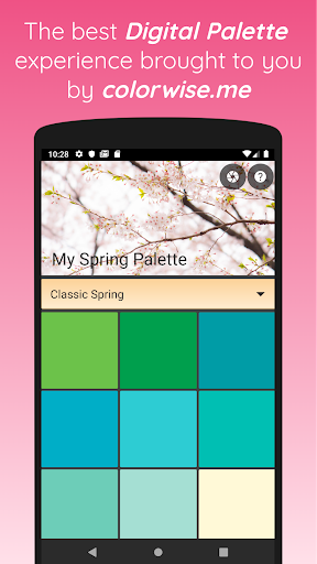 My Spring Palette screenshot