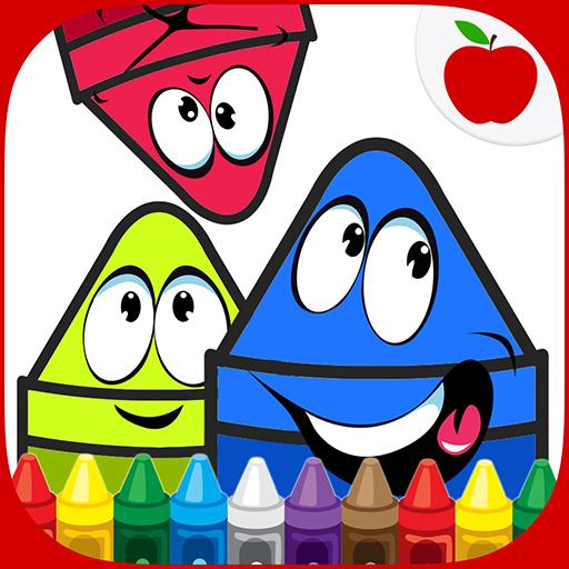 著色瘋狂的蠟筆 教育 App LOGO-硬是要APP