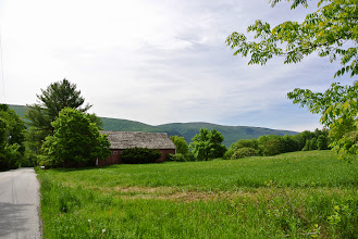 Photo: Our inn was in such an idyllic location. We took a lovely, long walk before heading to Burlington.