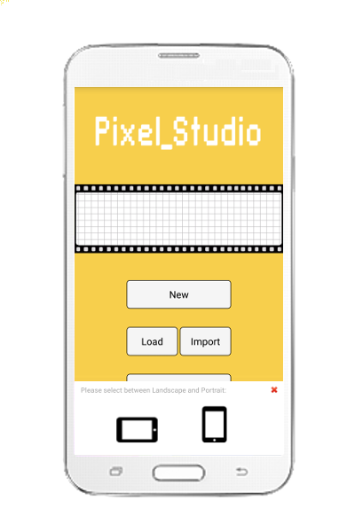 Pixel Art Studio- screenshot
