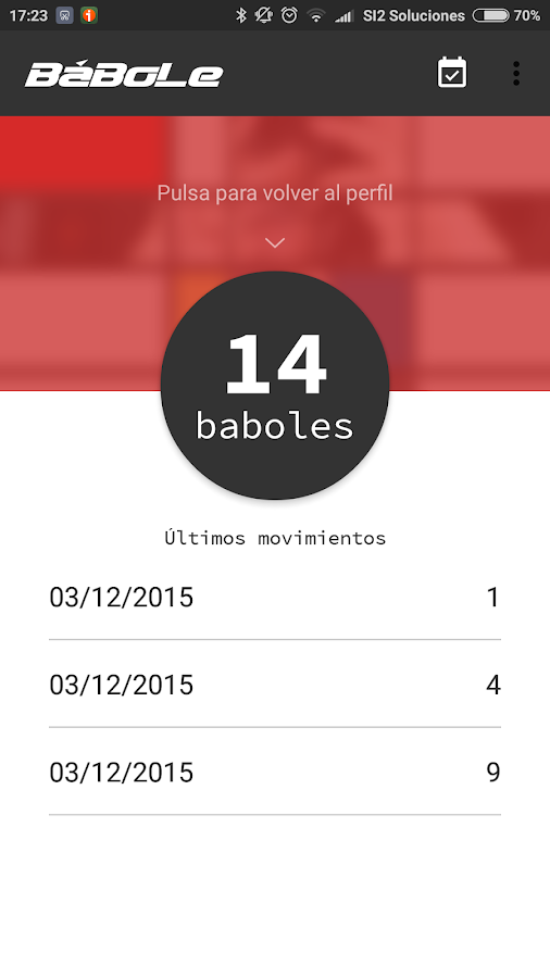 Babole Granada- screenshot
