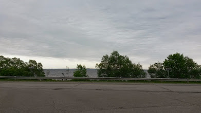 Photo: More roadside lake pictures. It's a different lake this time! Lake Michigan!