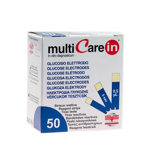 Blodsockerstickor till Multicare IN 50 Stycken