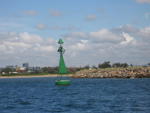 Photo: Starboard channel marker