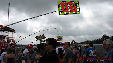 Photo: The Dale Jr 88 Pit Sign out on Pit Road Sunday morning.