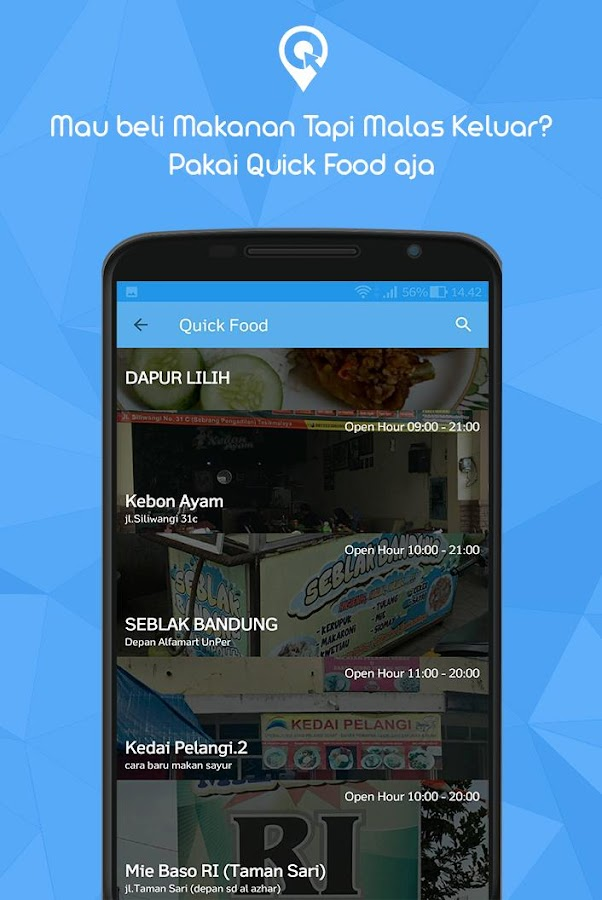 klikQuick - Marketplace Local Area- screenshot