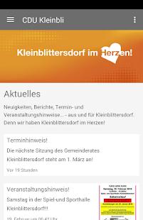 CDU Kleinblittersdorf - náhled