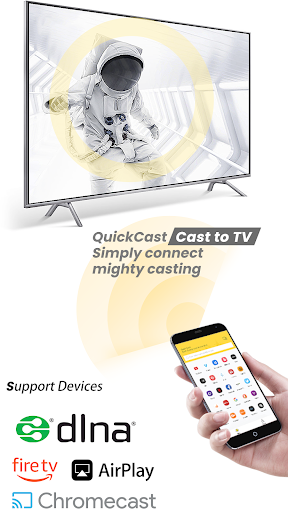 Cast to Chromecast Fire TV Android Smart TV QC  screenshots 1