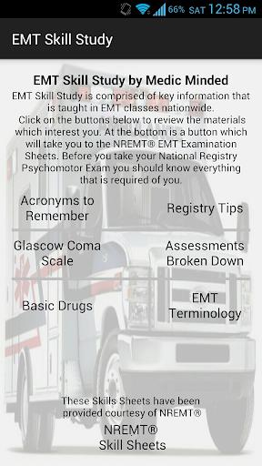 EMT Skill Study