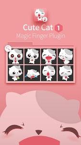 White Cat-Magic Finger Plugin screenshot 0