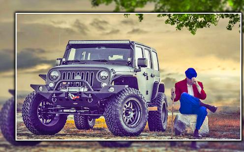 Latest Jeep Photo Editor | Latest Jeep Photo Frame - náhled