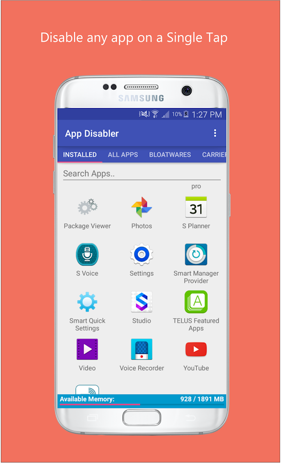 App Disabler (Samsung) APK Cracked Free Download | Cracked Android