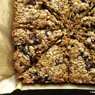 Cranberry Oat Bars.