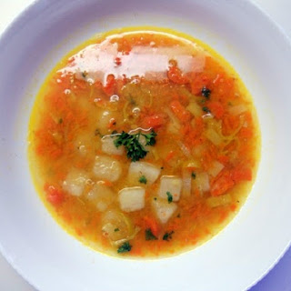 Aunt May's Scottish Lentil Soup.