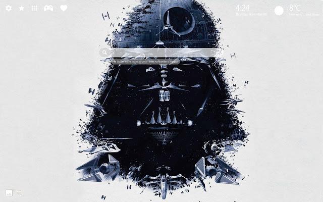 Darth Vader Star Wars Wallpapers New Tab