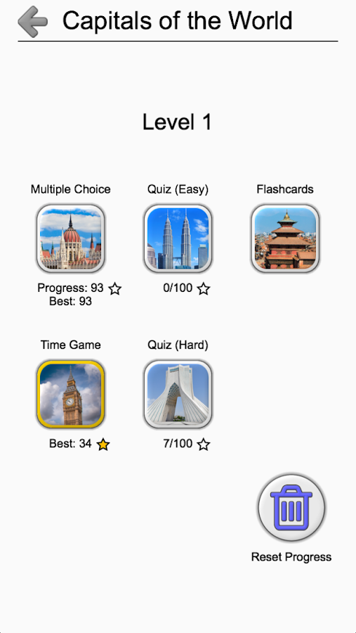 Capitals Of All Countries In The World City Quiz Android Apps - Capital cities of the world game
