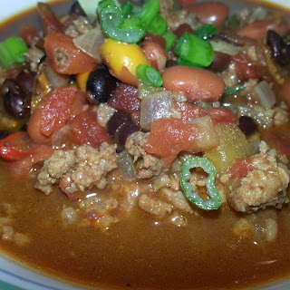 Pressure Cooker Chipotle Taco Bean Soup.