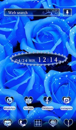 Cool Wallpaper Blue Roses 1.0.0 Windows u7528 1