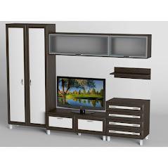 Гостиная-4 производства Черниговской фабрики Тиса мебель