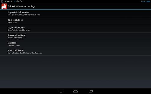 OfficeSuite QuickWrite screenshot 8