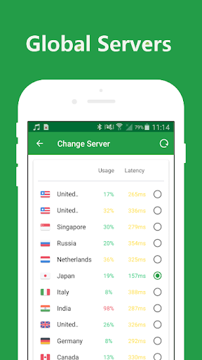 KEY VPN – A Fast , Unlimited, Free VPN Proxy 5.8 screenshots 4