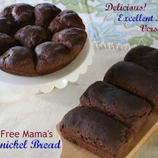 Gluten Free Pumpernickel Bread ~ Mama's Mock Pumpernickel