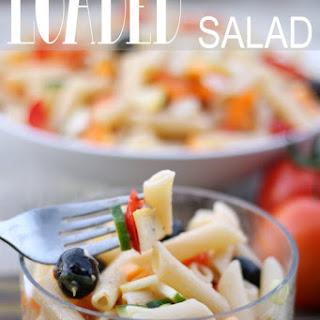 Loaded Pasta Salad.