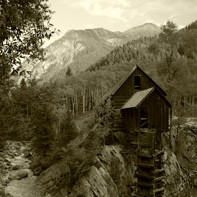 Crystal Mill by Molly Doerner - Buildings & Architecture Public & Historical ( pwcbuilding-dq )