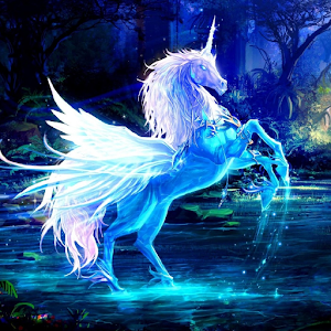 Unicorn wallpaper android apps on google play unicorn wallpaper voltagebd Image collections