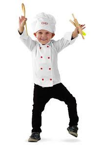 Barndräkt, kock