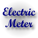 Electric Meter Free Icon