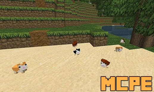 hamsters mod for minecraft pe መተግባሪያዎች google play ላይ
