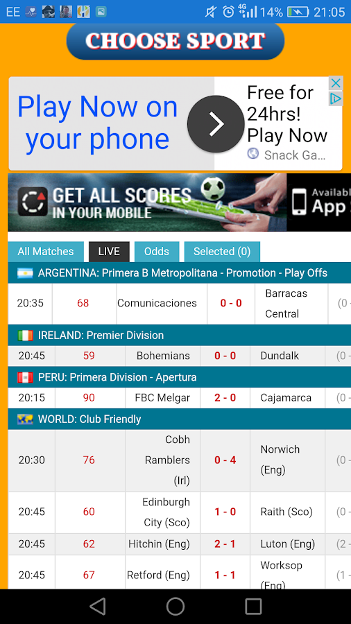Live Scores Today- screenshot