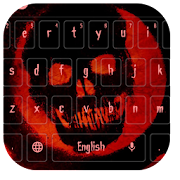 Blood Skull Keyboard