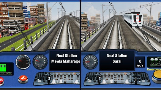 DelhiNCR Metro Train Simulator 4