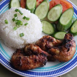 Vietnamese Grilled Chicken with Lemongrass (Ga Nuong Xa)