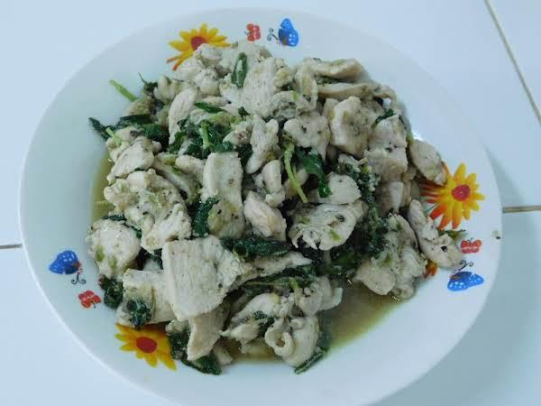 Chicken & Thai Basil.