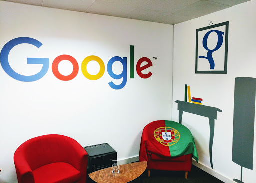 Google's Europe Office in Lisbon, Portugal.