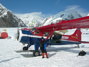 Photo: Base camp Mt. McKinley