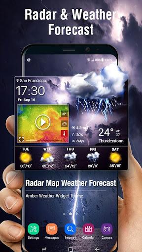 Radar Weather Map & Strom Tracker screenshot