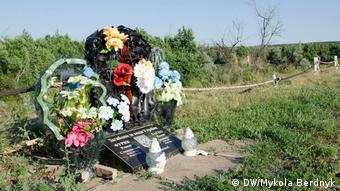 Могила загиблих на Донбасі
