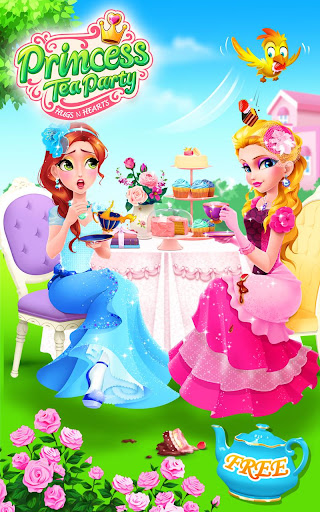Princess Tea Party Salon