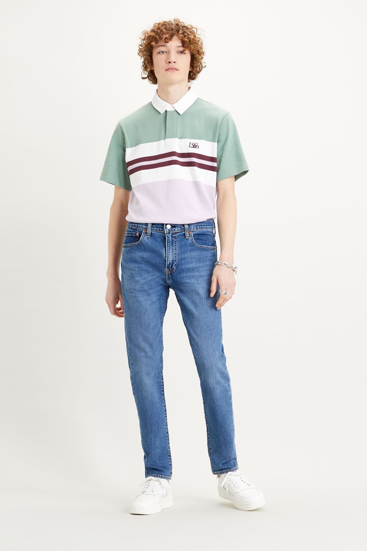 Levi's 512 Slim taper fit jeans corfu spanish angels