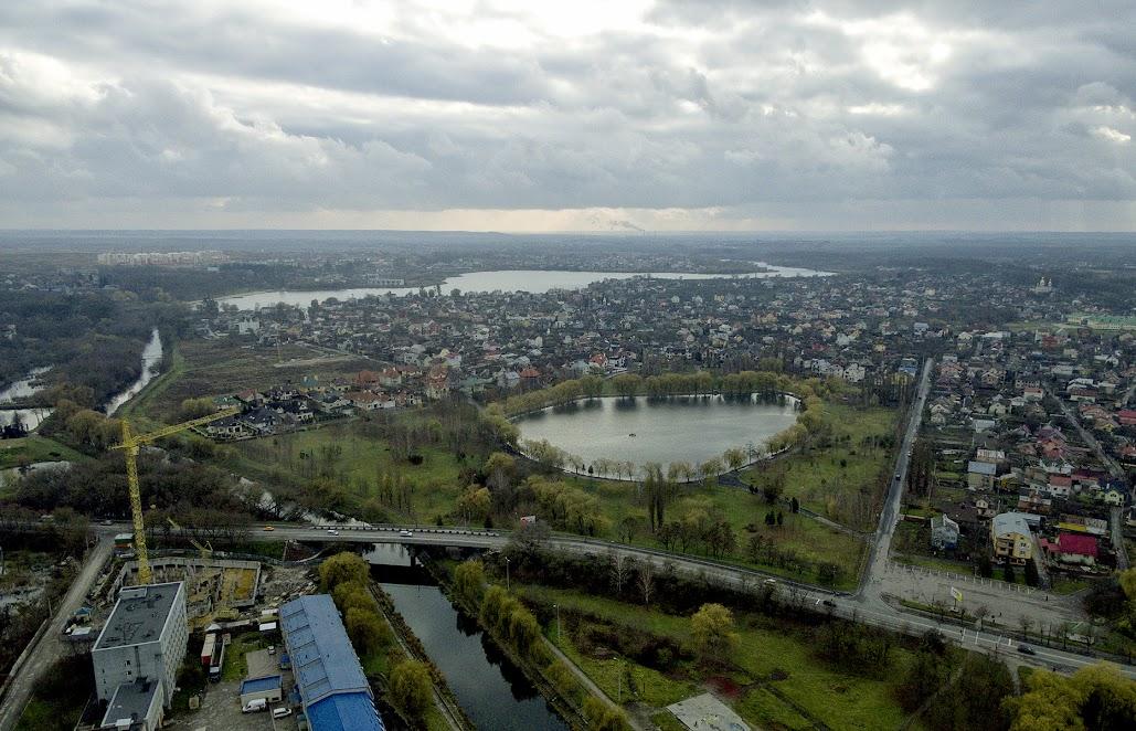 Озеро Басів Кут, Рівненський гідропарк, р. Устя