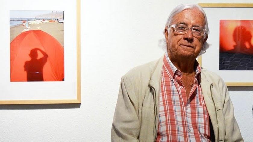 Carlos Pérez Siquier, en una de sus exposiciones.