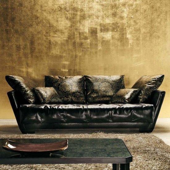 Sơn hiệu ứng Waldo - Dát vàng lá - Nét đẹp của nghệ thuật dát vàng tái hiện cung điện hoàng gia Châu Âu