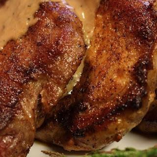 Creamy Herbed Pork Chops.