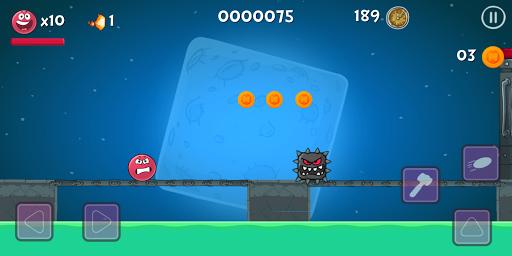 Red Ball Bounce 4 Hero vol 2 apkdebit screenshots 2