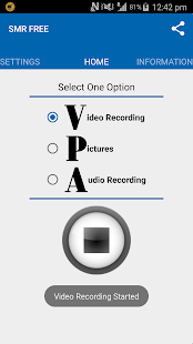 Secret Video Recorder - FREE- screenshot thumbnail