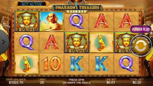 Casino Free Reel Game - PHARAOHS TREASURE DELUXE 1.0.1 screenshots 1